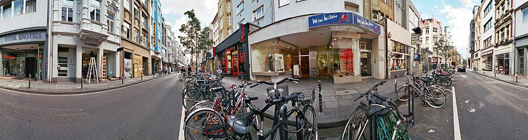 Ehrenstraße in Köln