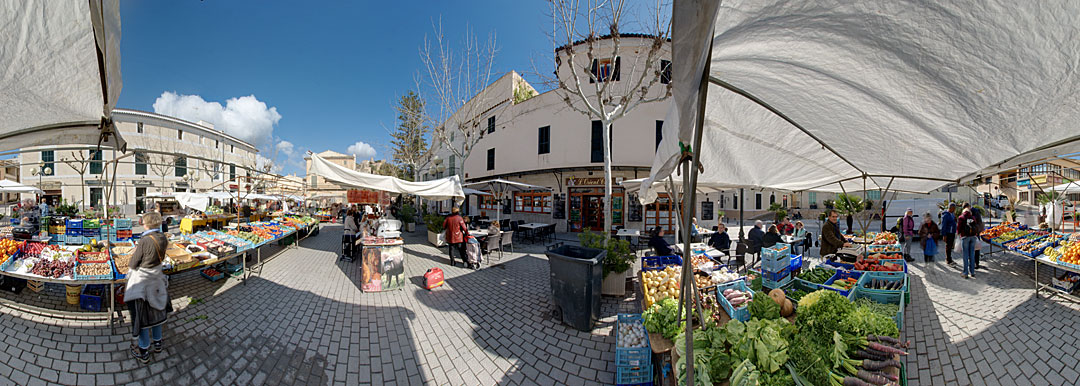 Ein Markttag in Capdepera – Mallorca