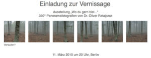 Vernissage in Berlin am 11.03.2010