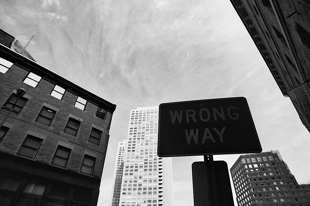 Nicht hier entlang…